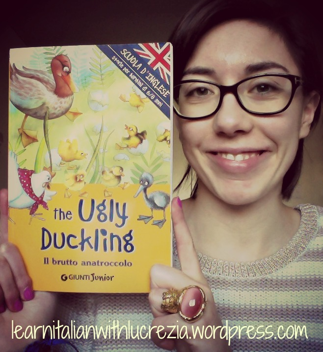 This is the book I used - The Ugly Duckling, GIUNTI Junior