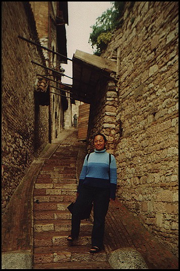 Karla in Assisi