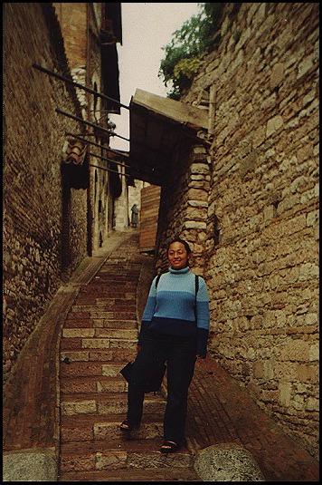 Karla in Assisi