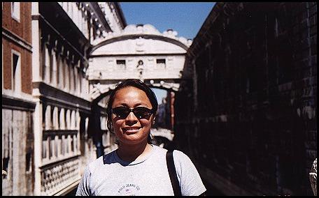 Karla sul Ponte dei Sospiri, Venezia